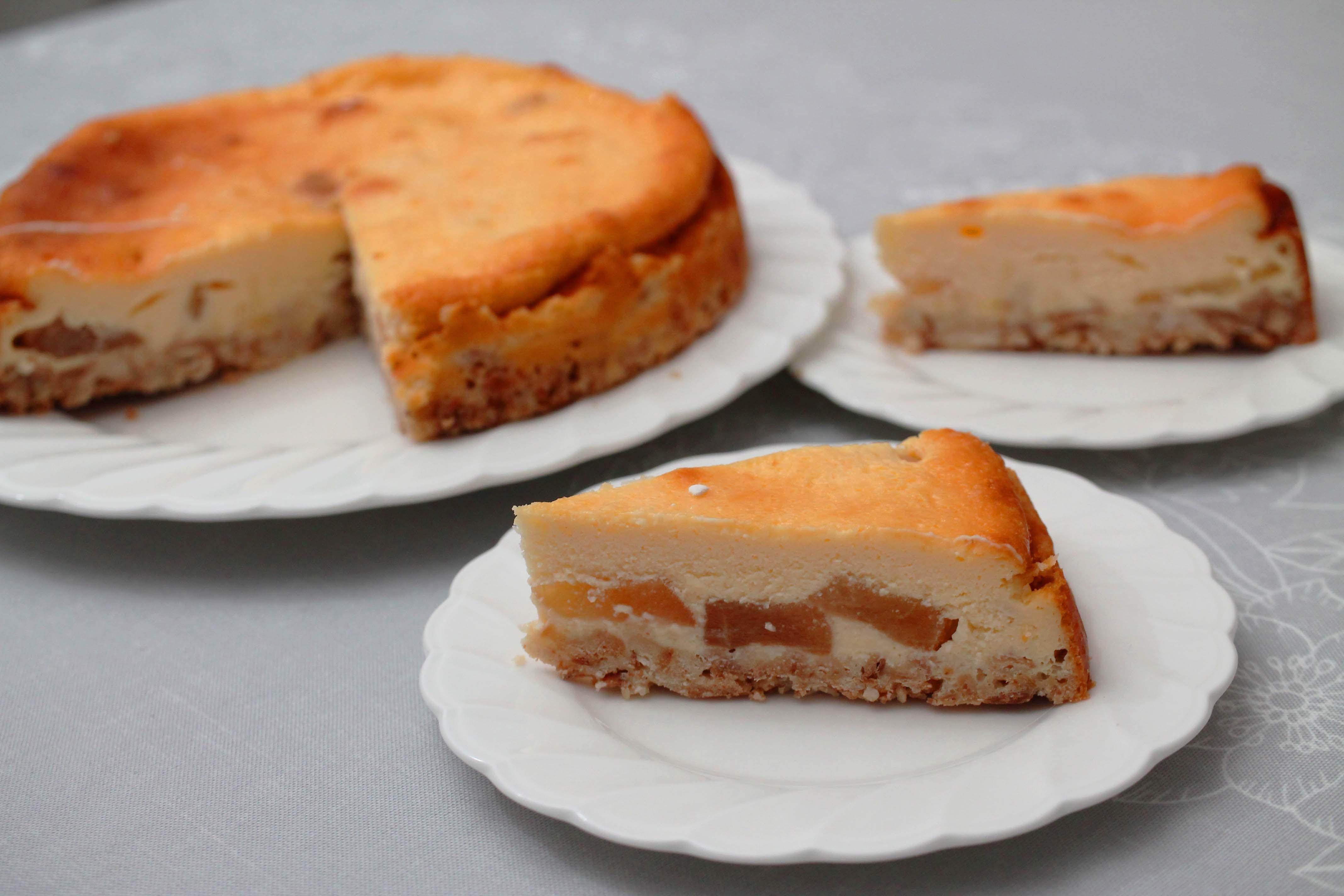 りんごのチーズケーキ_d0377645_00091164.jpg