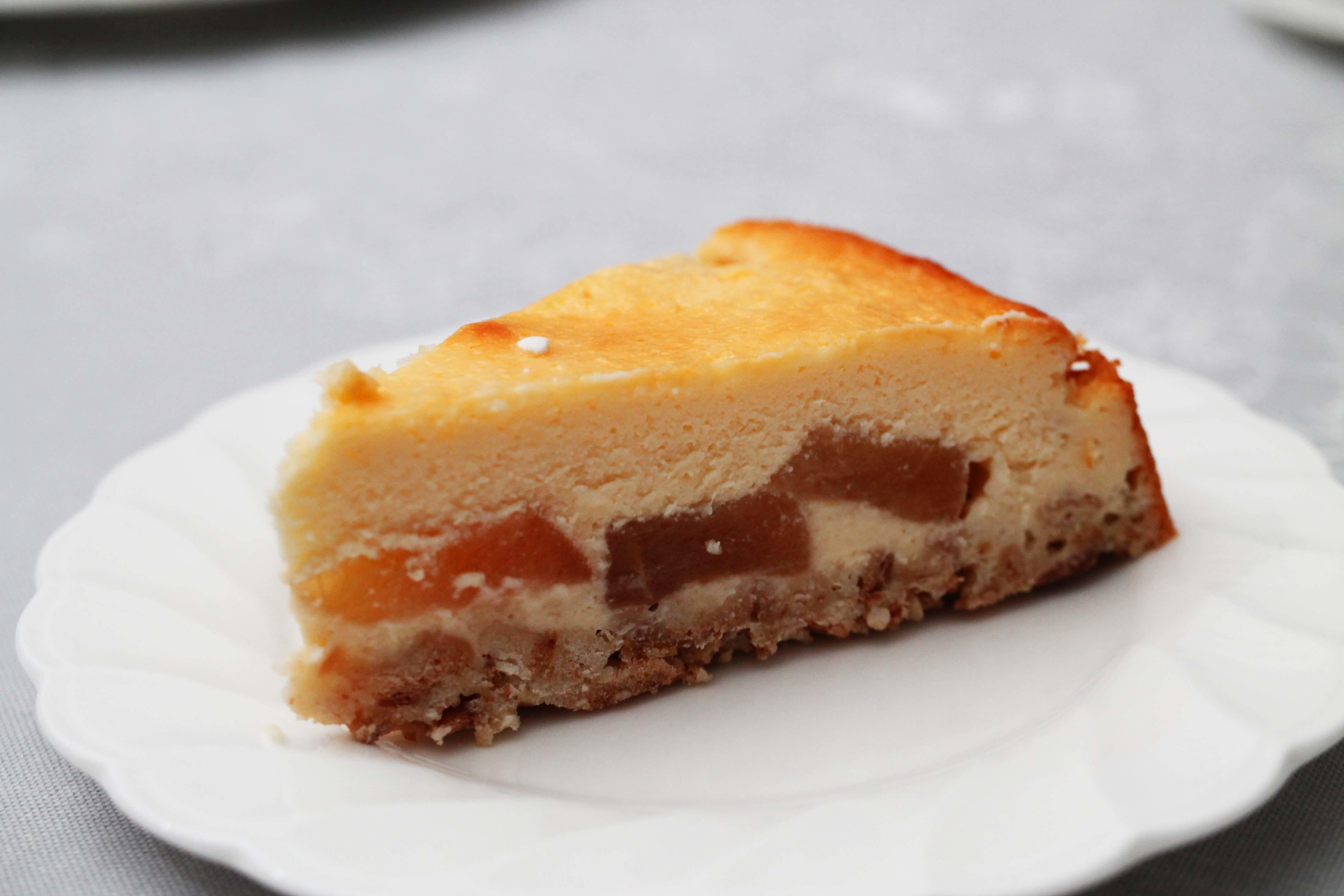 りんごのチーズケーキ_d0377645_00091409.jpg