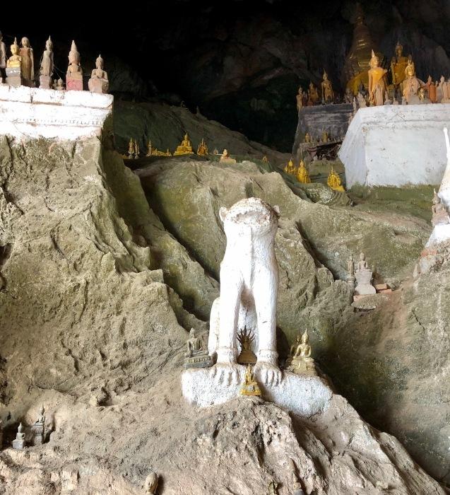 """ラオスの旅 17 絶壁の洞窟 """"パークウー洞窟""""@メコン川クルーズ_a0092659_19284082.jpg"""
