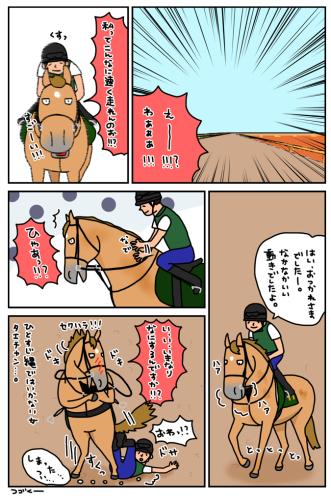 お母さんは競走馬 〜番外編・バヒュン〜_a0093189_19023111.jpg