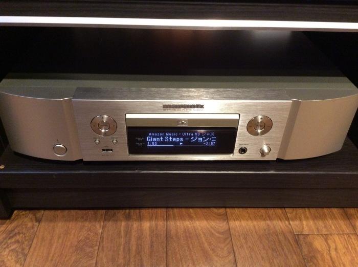 マランツのネットワークプレーヤー ND8006 で Amazon Music HD を聴く。_b0292692_17162194.jpg