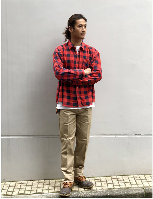 【DELIVERY】 STANDARD CALIFORNIA - Coolmax Stretch Twill Work Pants_a0076701_16041254.jpg