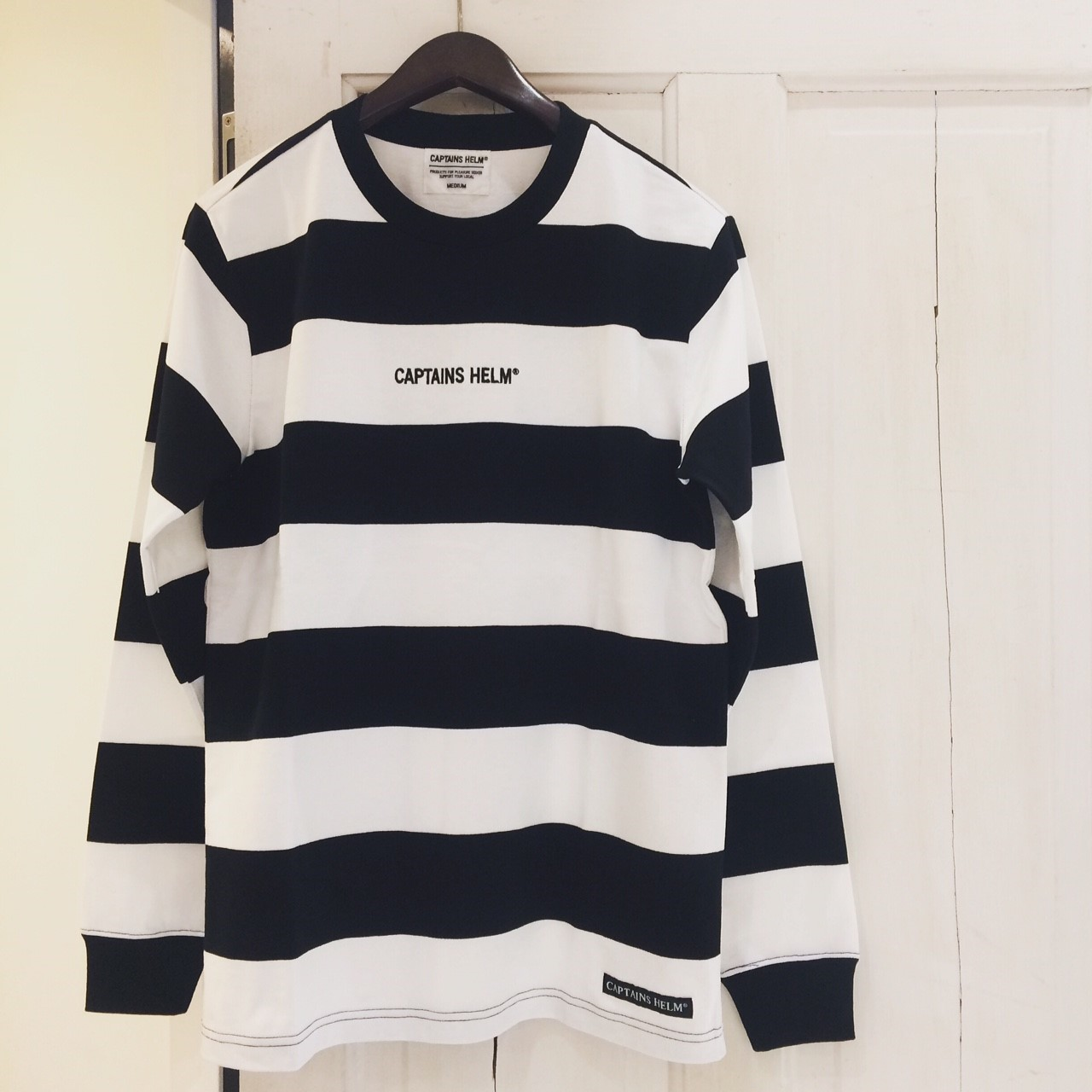【DELIVERY】 CAPTAINS HELM - #TRADEMARK BORDER L/S TEE_a0076701_16103891.jpg