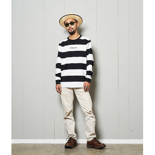 【DELIVERY】 CAPTAINS HELM - #TRADEMARK BORDER L/S TEE_a0076701_16125041.jpg