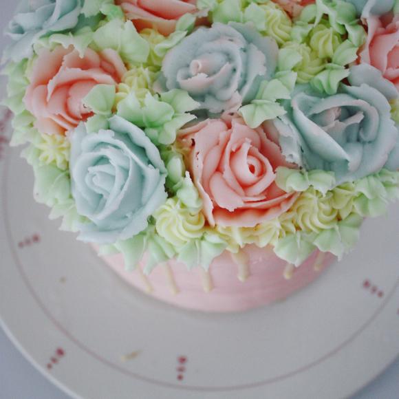 大人かわいいケーキ のオーダー_d0339705_22464922.jpg