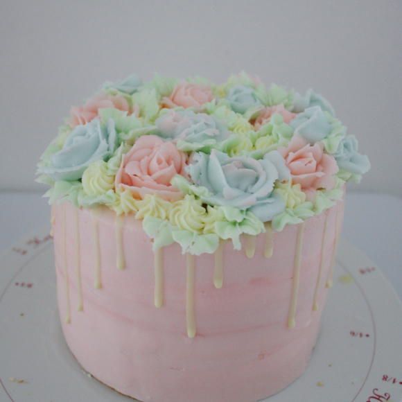 大人かわいいケーキ のオーダー_d0339705_22485537.jpg