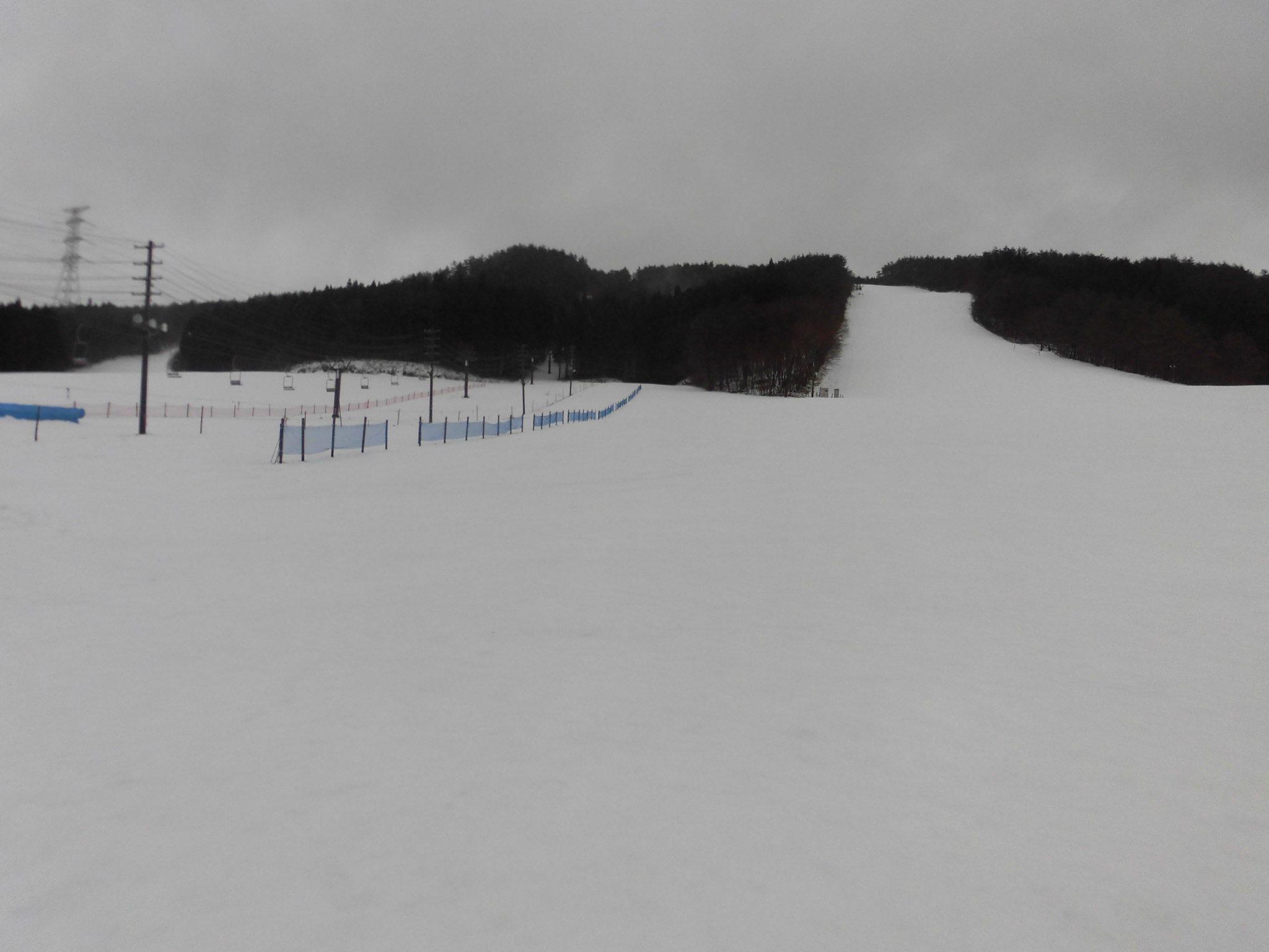 令和2年1月29日(水) 天気:雨 気温:2℃ 積雪:20㎝ 一部滑走可能_e0306207_07564233.jpg