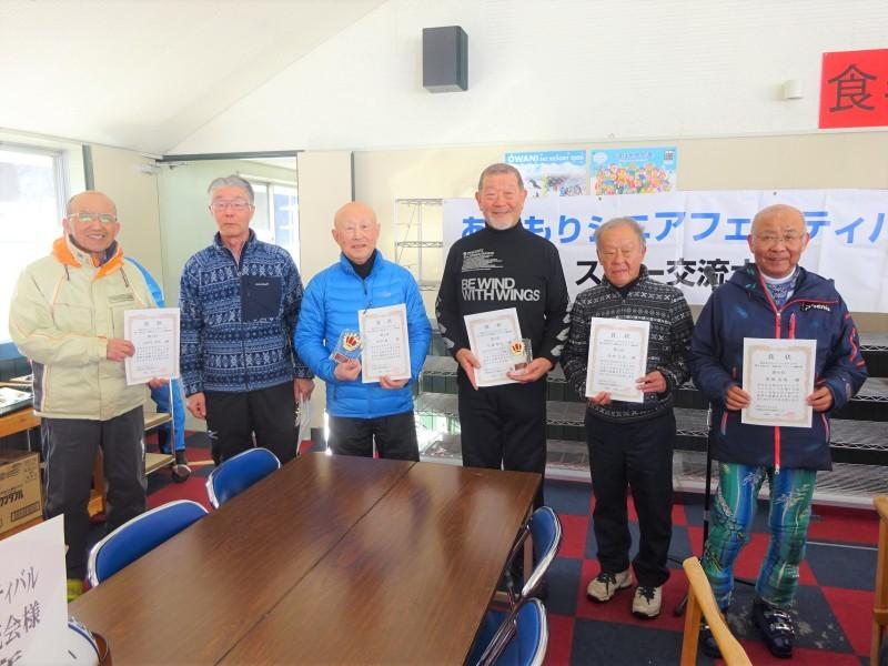 冬季スポーツイベント 第10回スキー交流大会 表彰式_d0366509_11340572.jpg