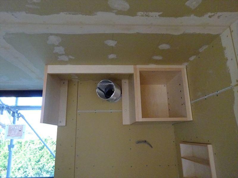 仙北町の家 仕上げの工程が進行中!_f0105112_04142113.jpg