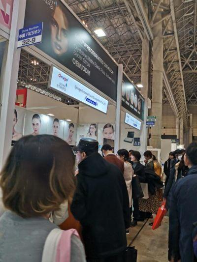 「COSME TOKYO & COSME TECH」化粧品展示会におけるマジックストリップ:日本の美容産業から賞賛_a0390018_14072942.jpg