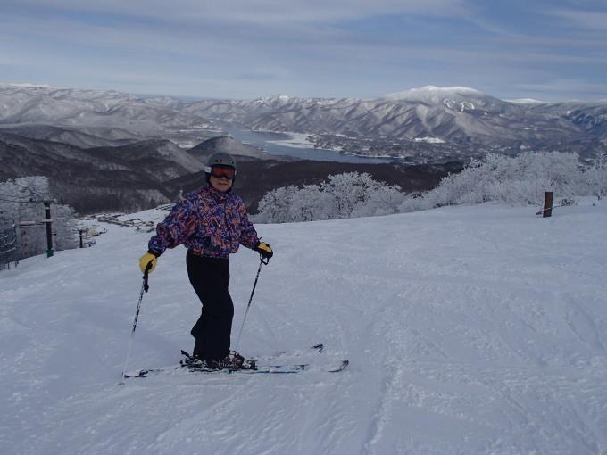 猫魔スキー場で初滑り_c0141223_17315813.jpg