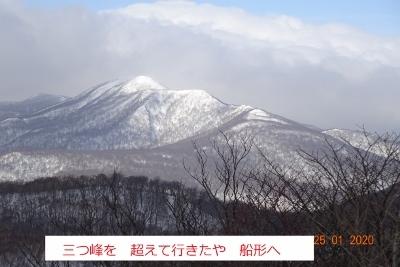 泉ヶ岳(三叉路下山_e0265627_14173693.jpg