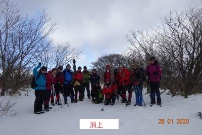 泉ヶ岳(三叉路下山_e0265627_14444862.jpg