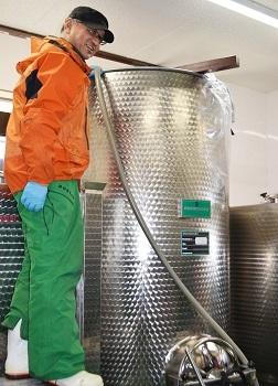 山葡萄ワイン2018樽熟成 2月3日販売開始なのだ!_c0259934_10495802.jpg