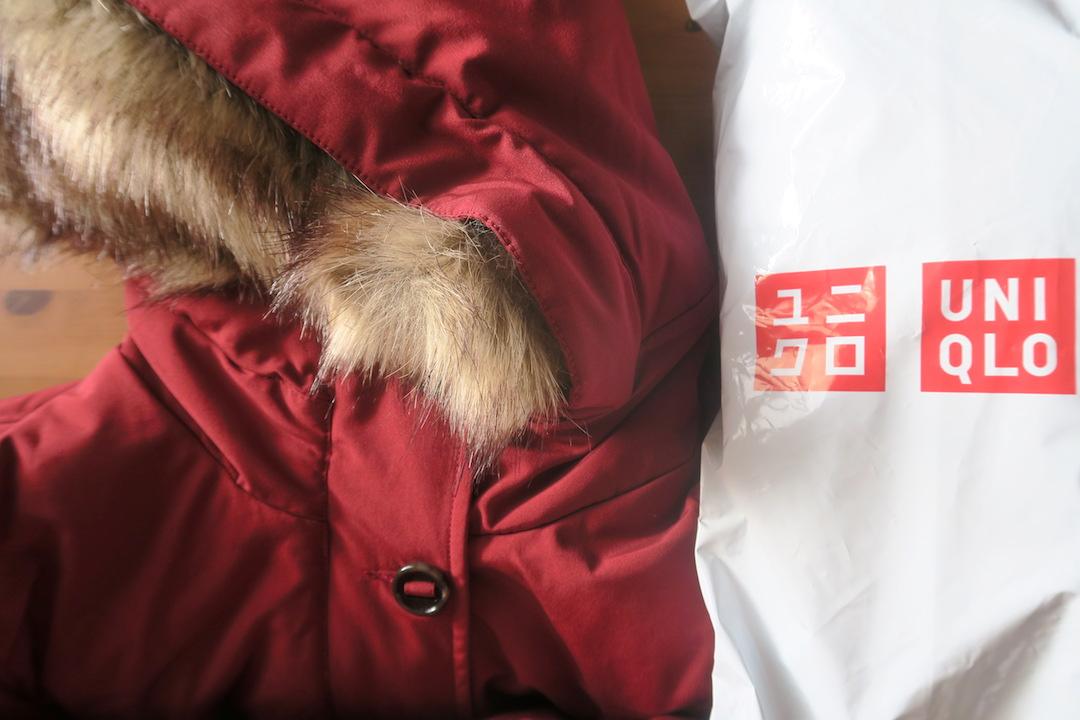 ユニクロのコート届いてうれしいな、イタリアでオンライン注文_f0234936_5145432.jpg
