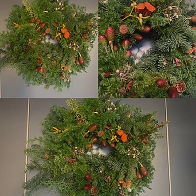 クリスマス・リース教室_d0248537_15293295.jpg