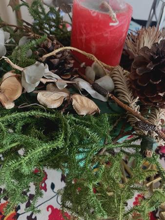 クリスマス・リース教室_d0248537_15300552.jpg
