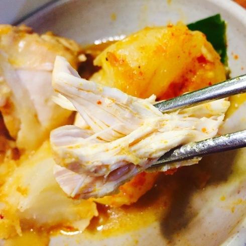 ソウル旅行 5 水曜美食会の人気店へ「プンニョンタットリタン」市庁駅_f0054260_12001499.jpg