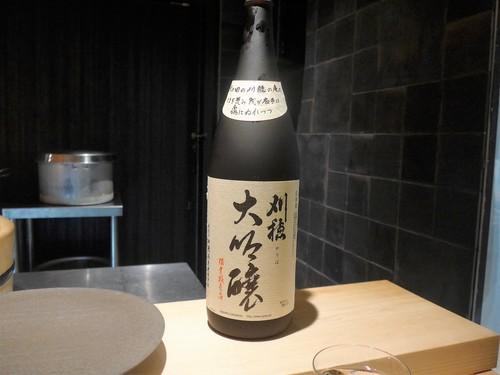渋谷「熟成鮨 万」へ行く。_f0232060_15154770.jpg