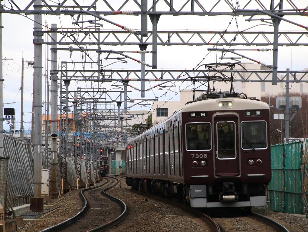 阪急7300系 7306F _d0202264_41885.jpg