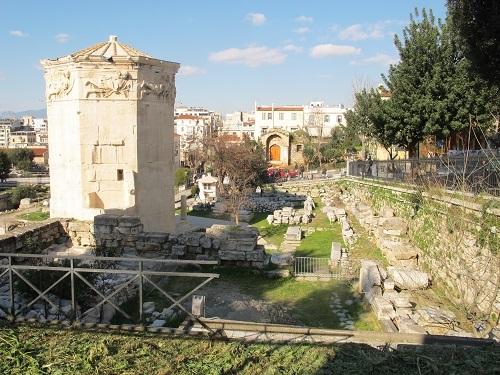 アテネのローマン・アゴラの猫たち_f0037264_19114321.jpg