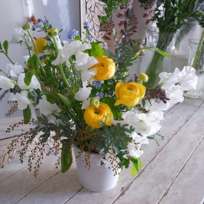 オークリーフ花の教室(かさね君の作品)_f0049672_19154027.jpg
