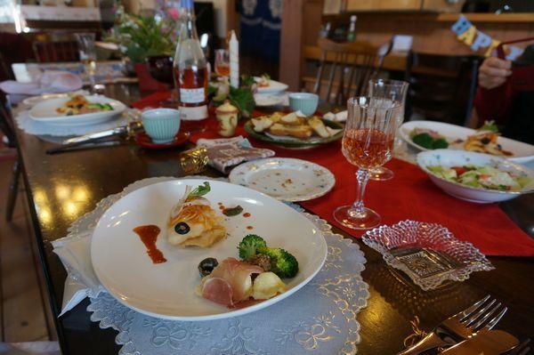 お土産はイタリアン料理_e0365880_17384356.jpg