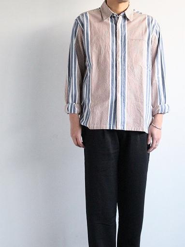 NOMA t.d. N Stripe Shirt_b0139281_13302131.jpg