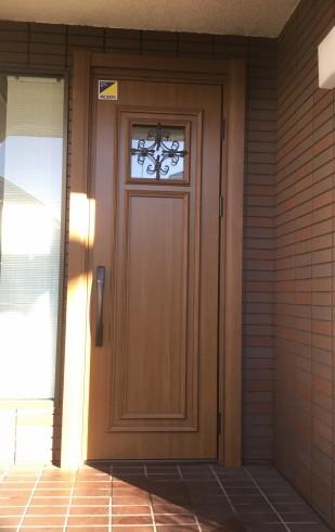 リフォーム玄関ドア_e0190287_17214211.jpg