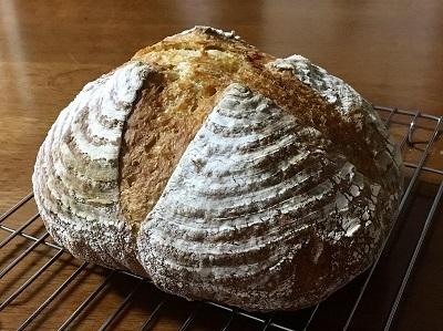 朝ごパンとカンパーニュとご報告。_f0231189_22090776.jpg