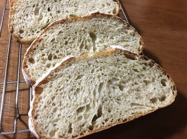 朝ごパンとカンパーニュとご報告。_f0231189_22091920.jpg