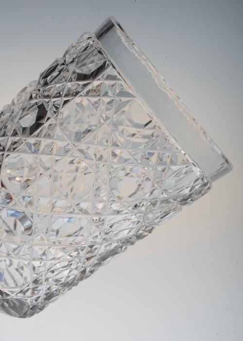 Baccarat Diamond Cut Tumbler_c0108595_23222972.jpeg