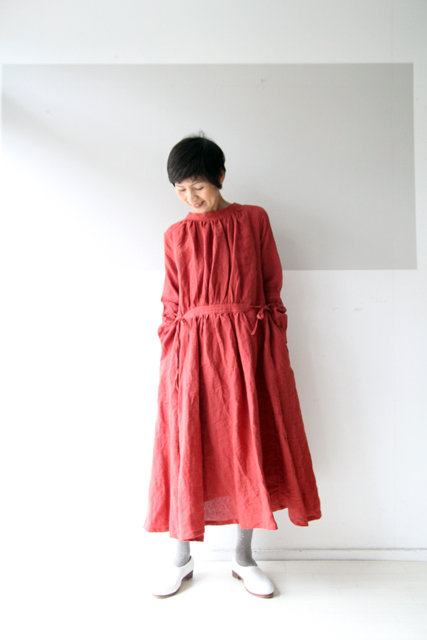 CLASSIC LINEN double face one-piece_f0215708_12081989.jpg
