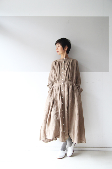 CLASSIC LINEN double face one-piece_f0215708_12082780.jpg