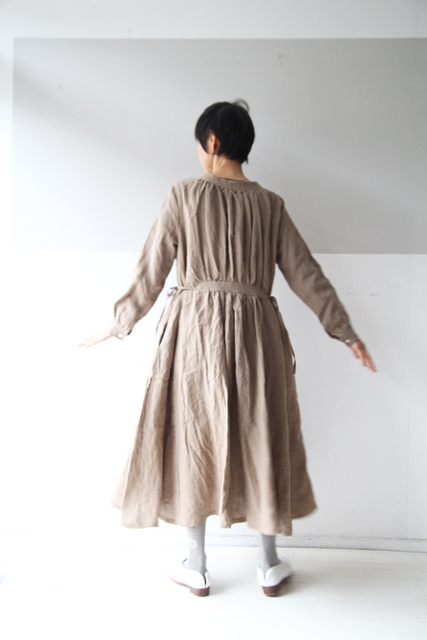CLASSIC LINEN double face one-piece_f0215708_12082913.jpg