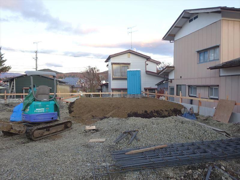 緑ヶ丘 アトリエのある家 進行中。_f0105112_04254892.jpg