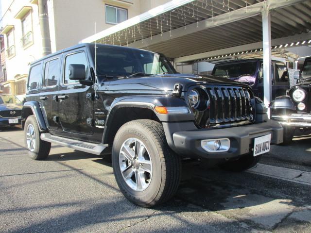 販売車両 JL ラングラー アンリミテッド サハラ レザー 新古車 入庫_b0123820_09582710.jpg