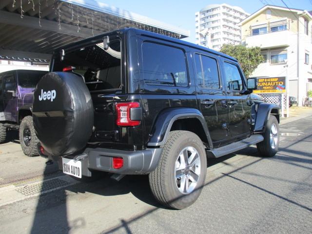 販売車両 JL ラングラー アンリミテッド サハラ レザー 新古車 入庫_b0123820_09590957.jpg