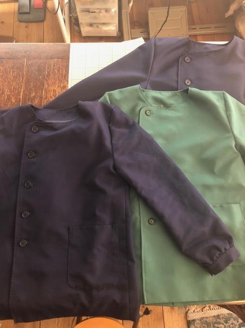 保育士さんの制服を作らせて頂きました!_d0127925_17592454.jpg
