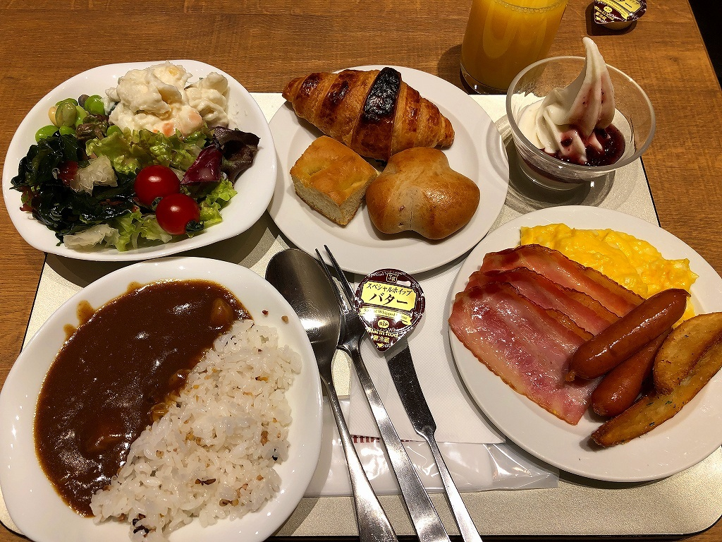 Breakfast Buffet@Osaka Tokyu REI Hotel_a0384046_23025824.jpg