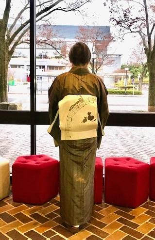 野田さんコンサート・縞着物に音符や猫の帯・楽器帯入荷。_f0181251_17592136.jpg