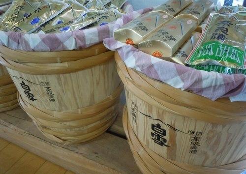 ランチは、日本酒の発祥の地、雰囲気満点の醸造所で_b0102572_17303826.jpg