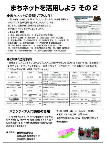 【R2. 2月号】岩倉市市民活動支援センター情報誌かわらばん89号_d0262773_12424047.jpg