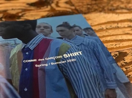 FINAL SALE. & COMME des GARCONS SHIRT 2020 S/S COLLECTION._c0079892_18535566.jpg
