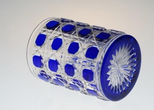 Baccarat Blue Diamond Cut Tumbler_c0108595_23501772.jpeg