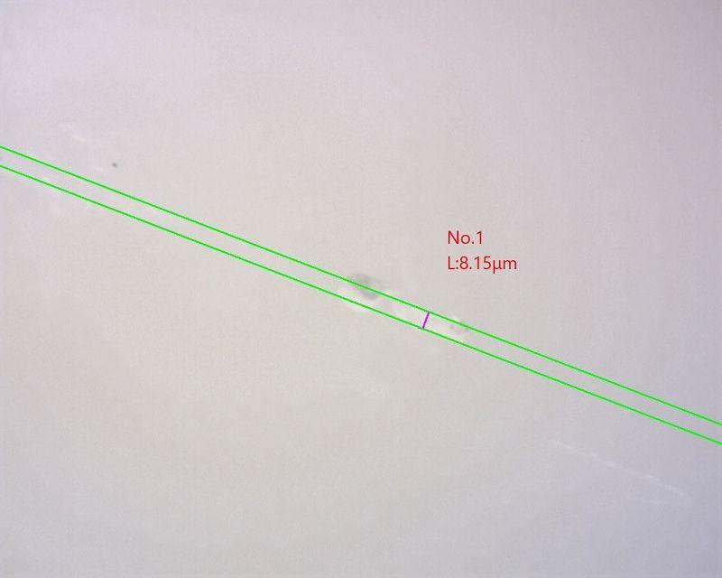 【マイクロスコープの斉藤光学です】セラミックス部分のキズを観察しました_c0164695_15164194.jpg