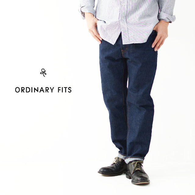 ordinary fits [オーディナリー フィッツ] 5POCKET ANKEL DENIM ONE WASH [OM-P020OW] ワンウォッシュ MEN\'S/LADY\'S _f0051306_16305091.jpg