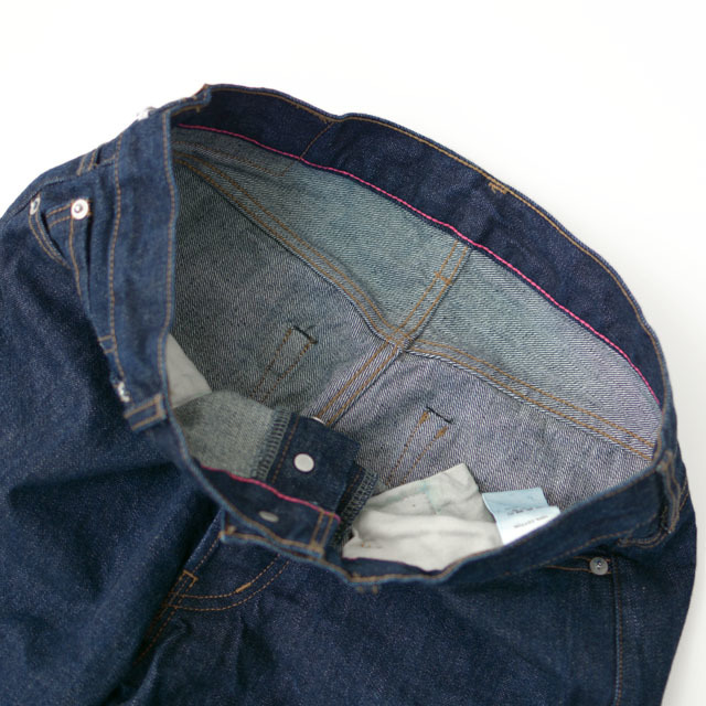 ordinary fits [オーディナリー フィッツ] 5POCKET ANKEL DENIM ONE WASH [OM-P020OW] ワンウォッシュ MEN\'S/LADY\'S _f0051306_16305157.jpg