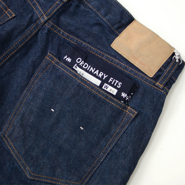 ordinary fits [オーディナリー フィッツ] 5POCKET ANKEL DENIM ONE WASH [OM-P020OW] ワンウォッシュ MEN\'S/LADY\'S _f0051306_16305170.jpg