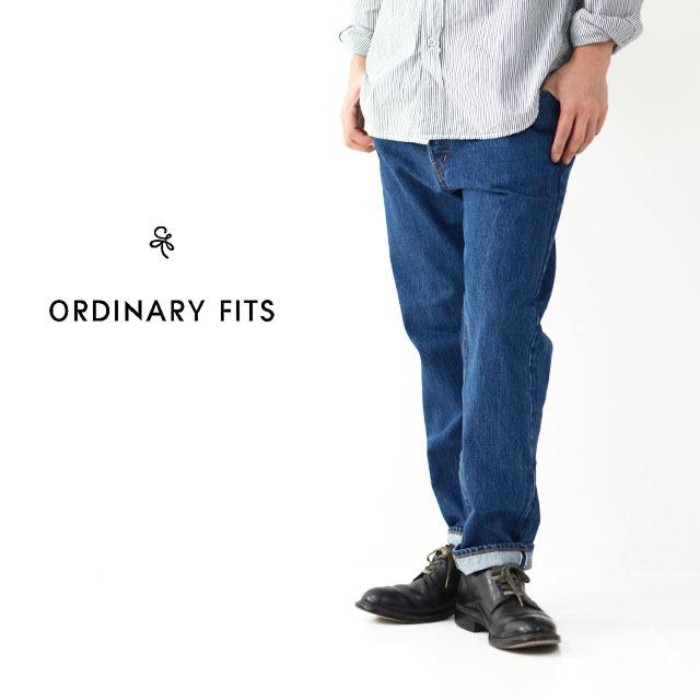 ordinary fits [オーディナリー フィッツ] 5POCKET ANKLE DENIM KODAMA [OM-P020] デニムクロップドパンツ/ ユーズド /  MEN\'S/LADY\'S _f0051306_17384720.jpg